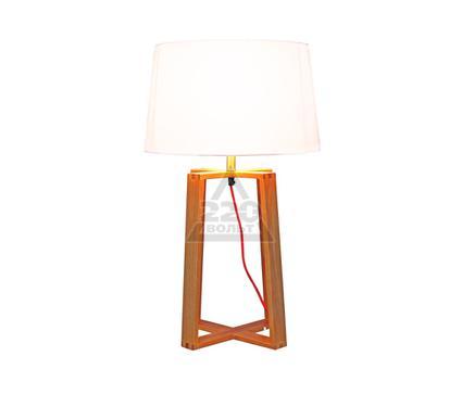 Лампа настольная МАКСИСВЕТ 5-2556-1-WOOD E27