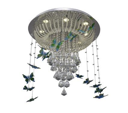 Люстра МАКСИСВЕТ 1-2646-12-CR Y LED