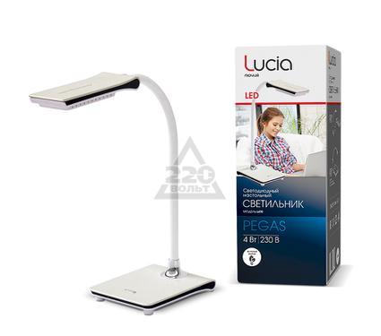 Лампа настольная ЛЮЧИЯ L490 Pegas белая
