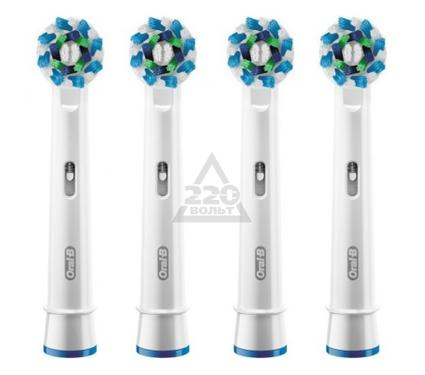 Насадка для зубной щетки ORAL-B EB50 Cross Action 4шт