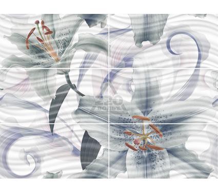 Декор-панно керамический GLOBALTILE 1608-0114 Fortuna Многоцветный