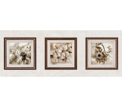 Декор керамический INTERCERAMA Д97031 Centurial Светло-коричневый