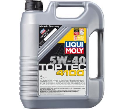 Масло моторное LIQUI MOLY Top Tec 4100 5W-40 5L