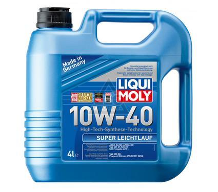 Масло моторное LIQUI MOLY Super Leichtlauf 10W-40 4L