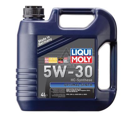Масло моторное LIQUI MOLY Optimal Synth 5W-30 4L
