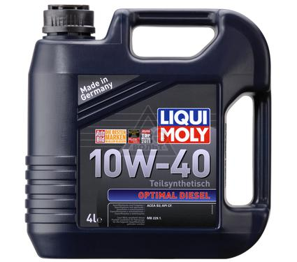 Масло моторное LIQUI MOLY Optimal Diesel 10W-40 4L
