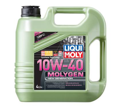 Масло моторное LIQUI MOLY Molygen New Generation 10W-40 4L