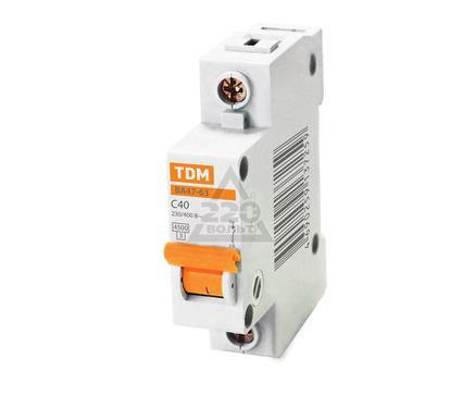 Автомат ТДМ SQ0218-0009