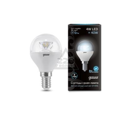 Лампа светодиодная GAUSS 105201204