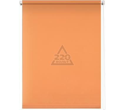 Рулонная штора УЮТ 90х175 Плайн оранжевый