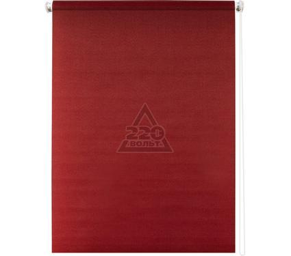 Рулонная штора УЮТ 160х175 Плайн красный