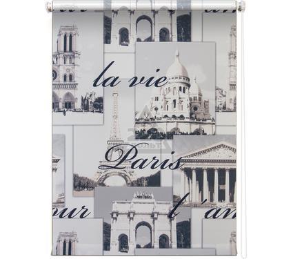 Рулонная штора УЮТ 100х175 Париж серый