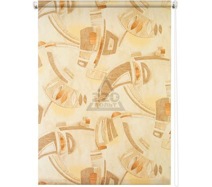 Рулонная штора УЮТ 180х175 Петра коричневый