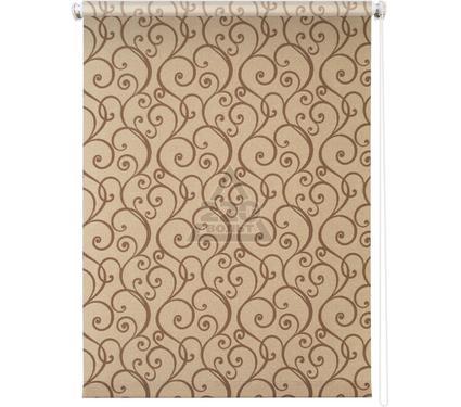 Рулонная штора УЮТ 80х175 Ампель коричневый