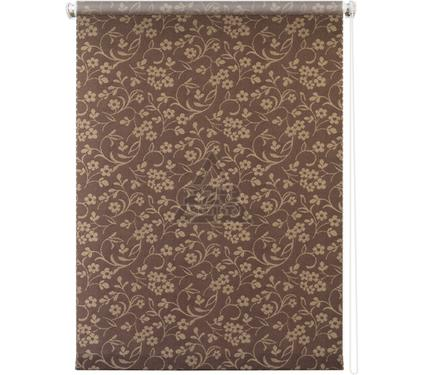 Рулонная штора УЮТ 120х175 Моравия коричневый
