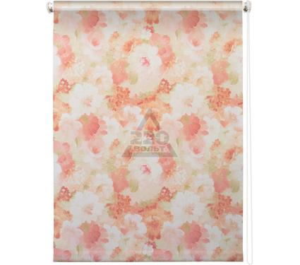 Рулонная штора УЮТ 120х175 Пионы розовый