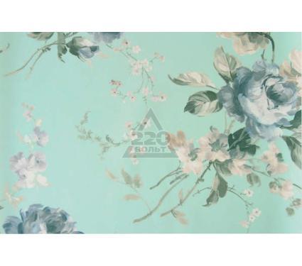 Рулонная штора УЮТ 140х175 Розарий голубой