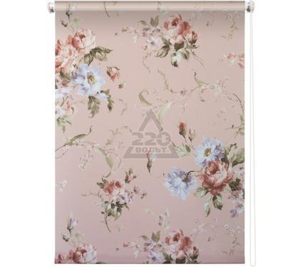 Рулонная штора УЮТ 80х175 Розарий розовый