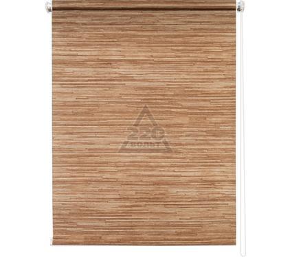 Рулонная штора УЮТ 80х175 Натурэль коричневый