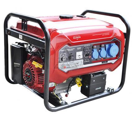 Бензиновый генератор ELITECH 181324 БЭС 8000ЕАМ