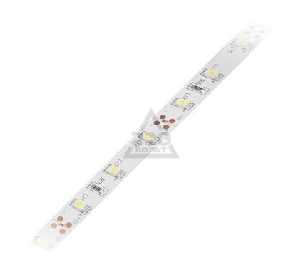 Лента светодиодная VOLPE ULS-Q121 3528-60LED/m-8mm-IP20-DC12V-4,8W/m-5M-WW