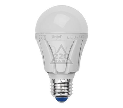 Лампа светодиодная UNIEL LED-A60-9W/NW/E27/FR ALP01WH