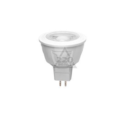 Лампа светодиодная UNIEL LED-JCDR-5W/WW/GU5.3/FR ALP01WH