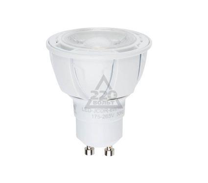Лампа светодиодная UNIEL LED-JCDR-6W/NW/GU10/FR/38D ALP01WH