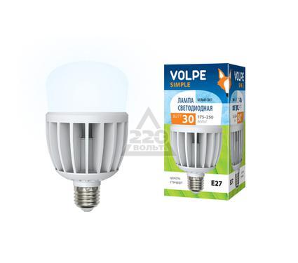 Лампа светодиодная VOLPE LED-M80-30W/NW/E27/FR/S