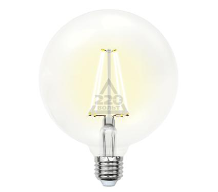 Лампа светодиодная UNIEL LED-G125-10W/WW/E27/CL PLS02WH