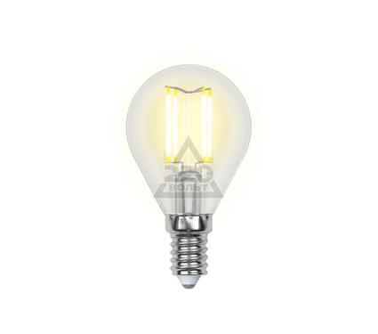 Лампа светодиодная UNIEL LED-G45-6W/WW/E14/CL PLS02WH
