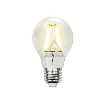 Лампа светодиодная UNIEL LED-A60-8W/WW/E27/CL PLS02WH