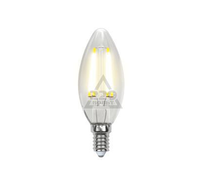 Лампа светодиодная UNIEL LED-C35-6W/WW/E14/CL PLS02WH