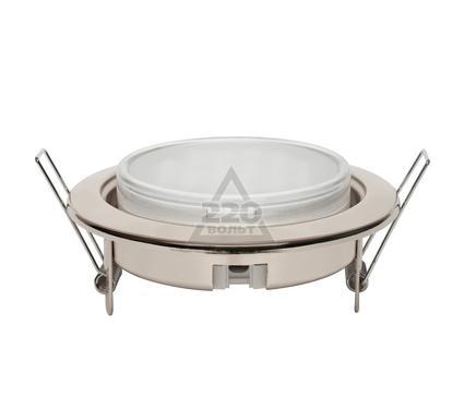 Светильник встраиваемый UNIEL GX53-9/2700/Н5 Хром