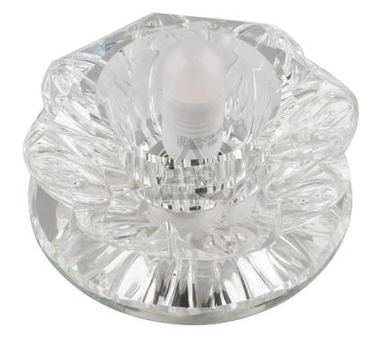 Светильник встраиваемый FAMETTO DLS-F101 G9 GLASSY/CLEAR