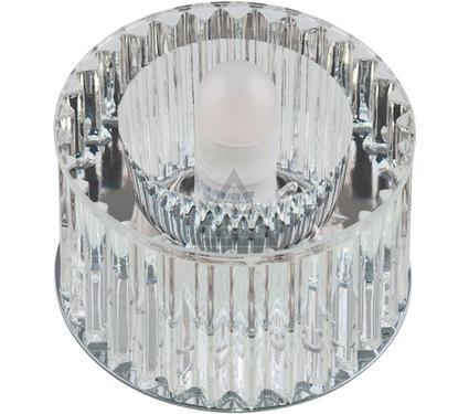 Светильник встраиваемый FAMETTO DLS-F104 G9 CHROME/CLEAR