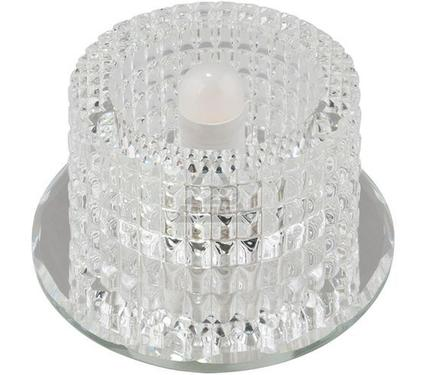 Светильник встраиваемый FAMETTO DLS-F110 G9 GLASSY/CLEAR