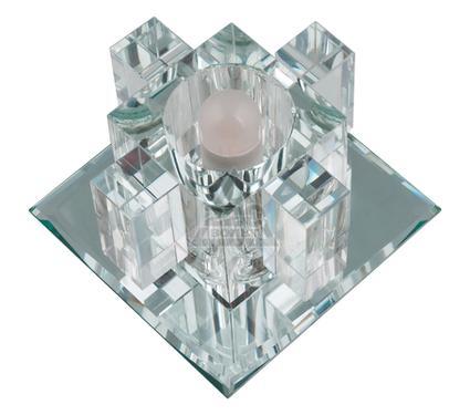 Светильник встраиваемый FAMETTO DLS-F117 G9 GLASSY/CLEAR
