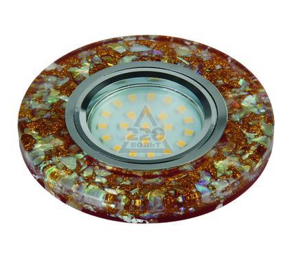 Светильник встраиваемый FAMETTO DLS-L103 GU5.3 CHROME/BROWN