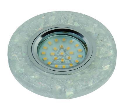 Светильник встраиваемый FAMETTO DLS-L103 GU5.3 CHROME/CLEAR