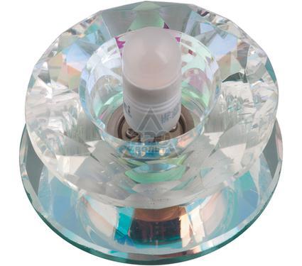 Светильник встраиваемый FAMETTO DLS-L117 G9 GLASSY/RAINBOW