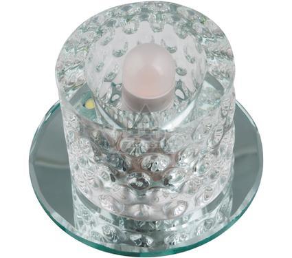 Светильник встраиваемый FAMETTO DLS-L118 G9 GLASSY/CLEAR