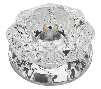 Светильник встраиваемый FAMETTO DLS-L301 3W GLASSY/CLEAR