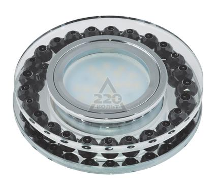 Светильник встраиваемый FAMETTO DLS-P102 GU5.3 CHROME/BLACK