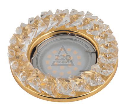 Светильник встраиваемый FAMETTO DLS-P121 GU5.3 GOLD/CLEAR