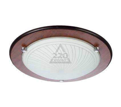 Светильник настенно-потолочный VOLPE ULI-Q105 12W/NW WHITE/WOOD