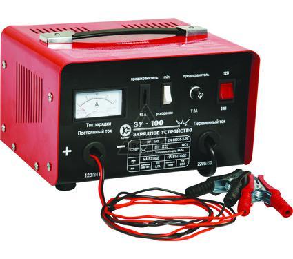 Зарядное устройство КАЛИБР ЗУ-100