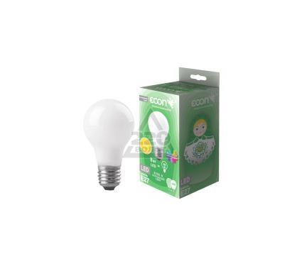 Лампа светодиодная ECON LED A 8Вт E27 3000K A60 FA