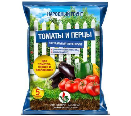 Грунт для томатов и перцев НАРОДНЫЙ ГРУНТ 13873