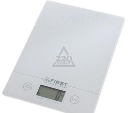 Весы кухонные FIRST FA-6400 White